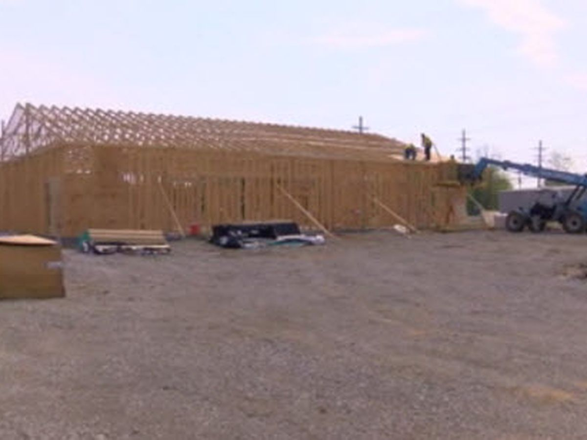 Work progresses for new Henderson Co. Jail building