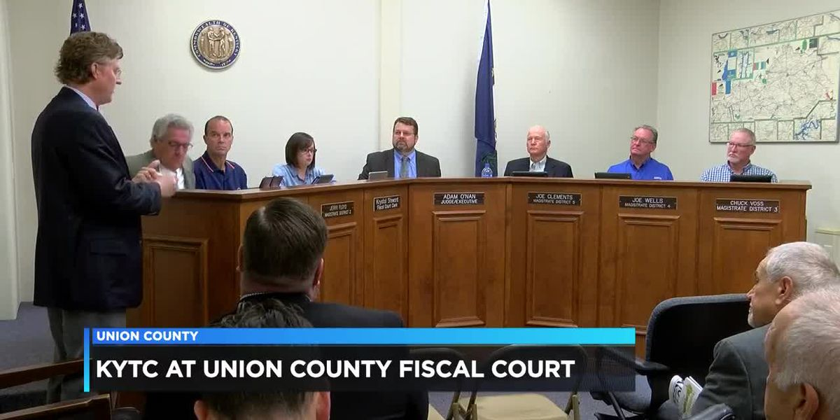 KYTC attends Union Co. Fiscal Court