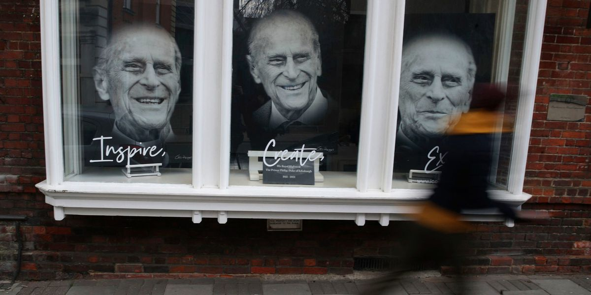 LIVE: Funeral service for Prince Philip