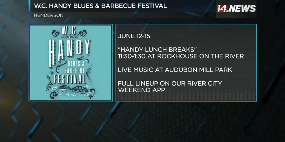 WC Handy Blues and BBQ Festival starts Wed.