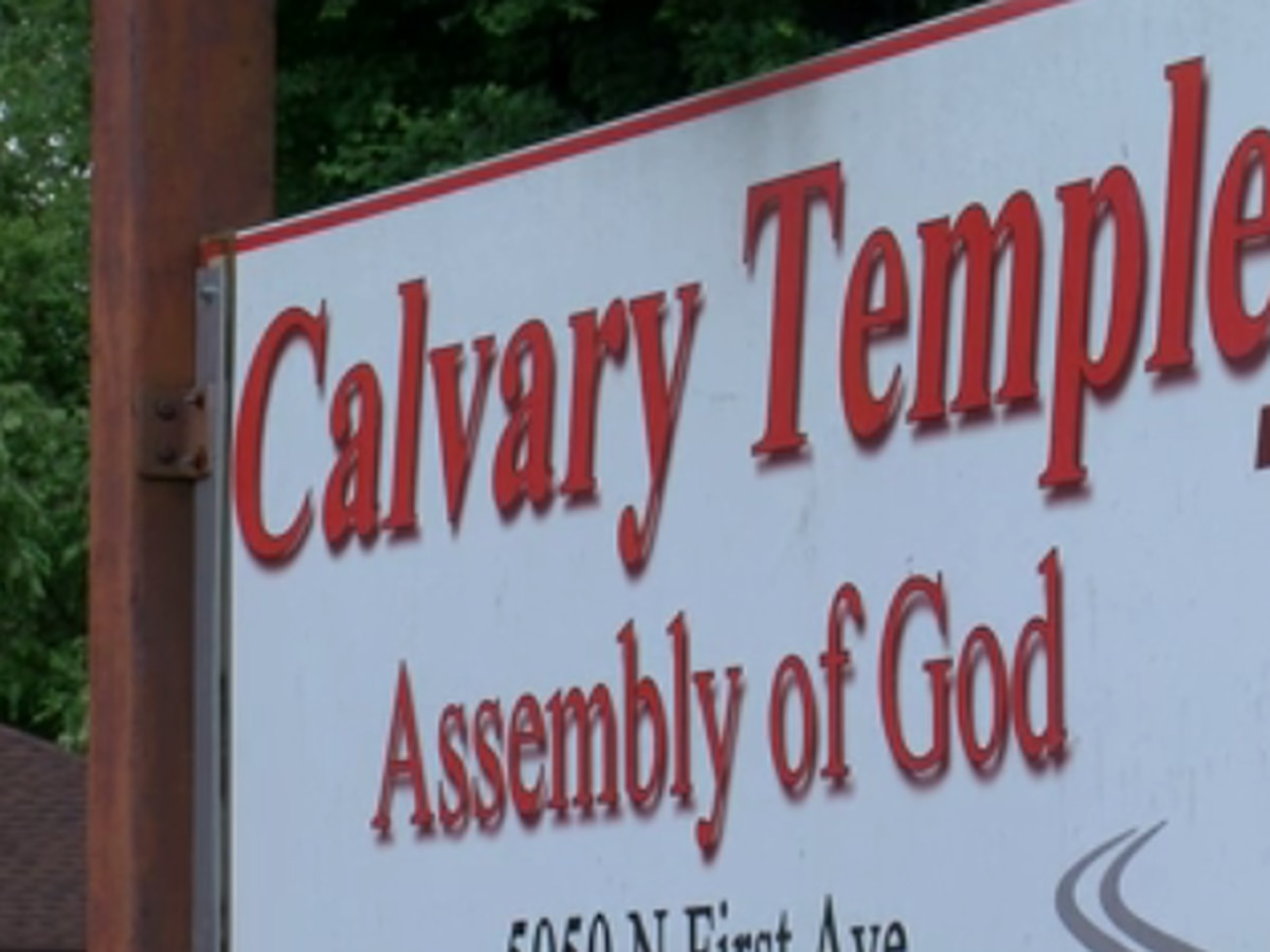 Cars broken into during church service