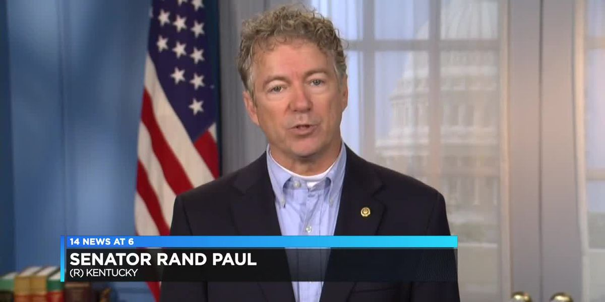 Rand Paul talks with 14 News about Trump impeachment trial