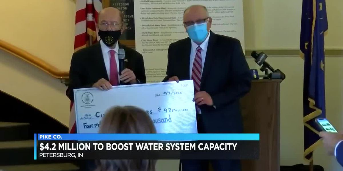 Grant announced to revamp Petersburg's water system