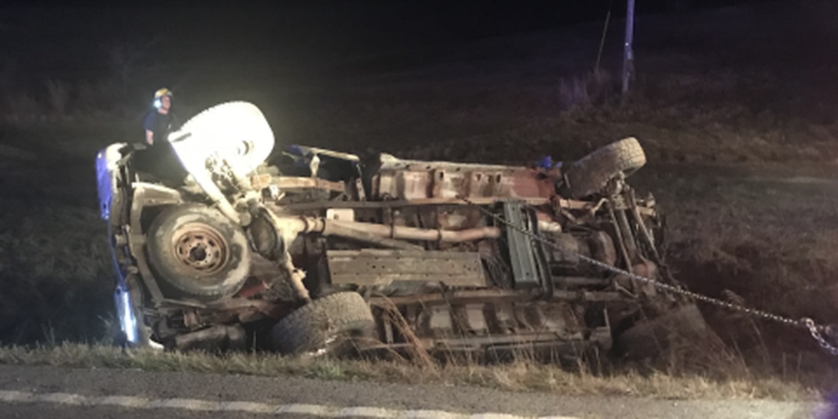 Driver flown to hospital after crash in Union Co.