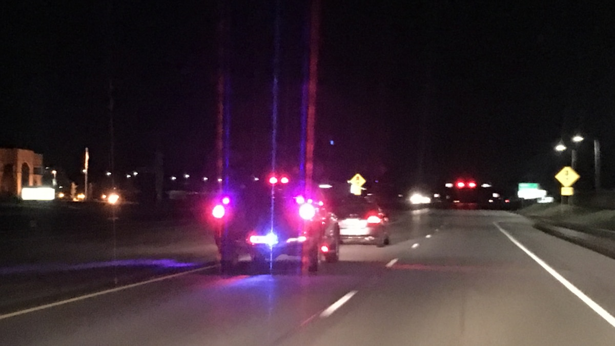 Police chase ends on Evansville's northside