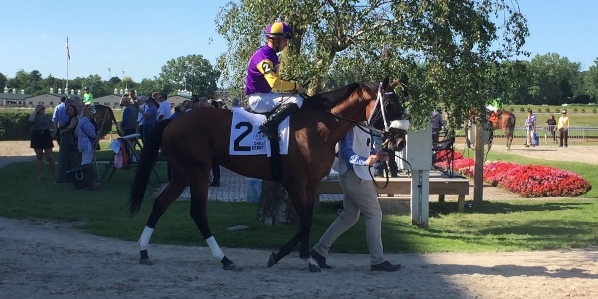 Owendale Wins Ohio Derby with Late Rally