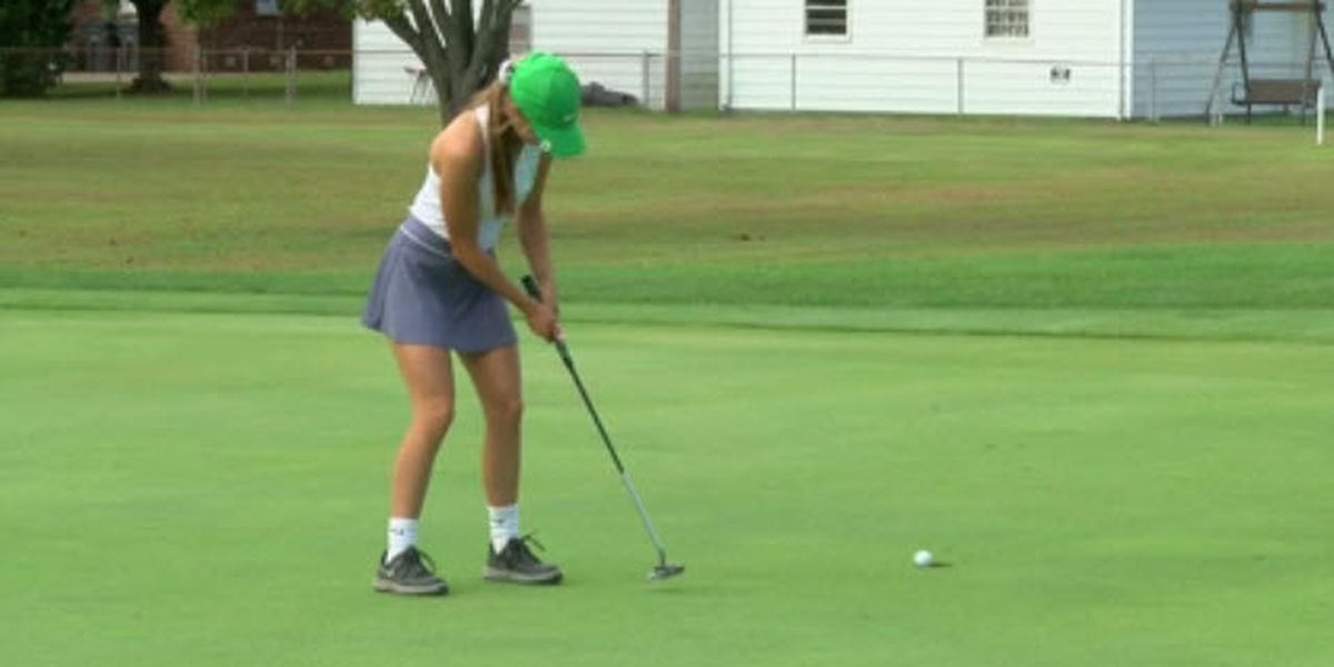 North celebrates win at IHSAA girls golf state championship