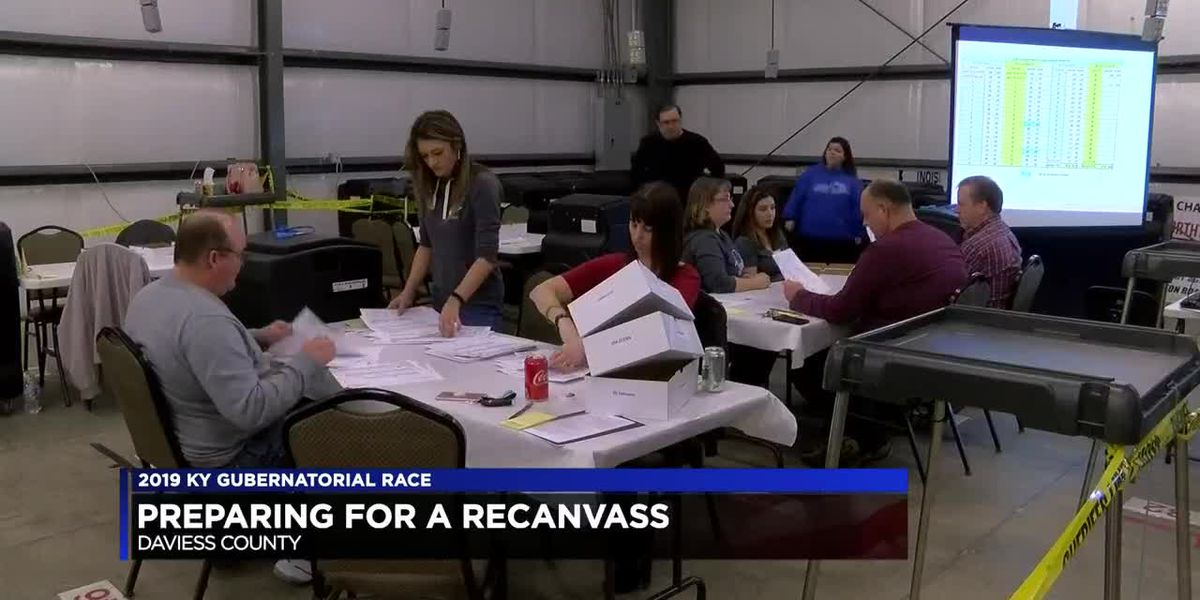Daviess Co. preparing for recanvass after Gov. Bevin's request