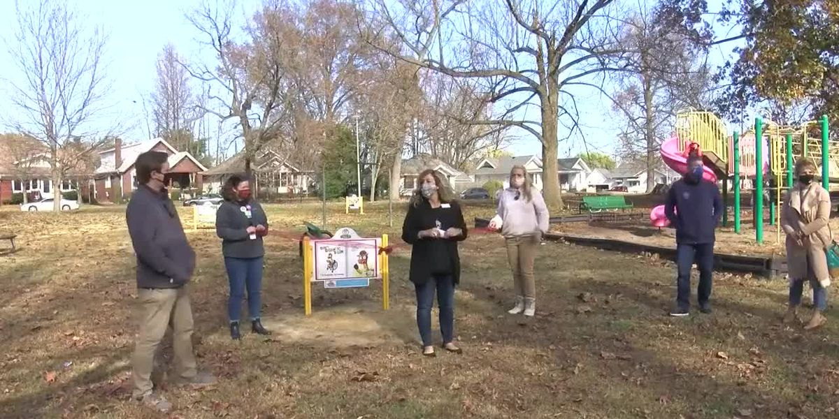 Story Trail debuts at Garvin Park on Friday