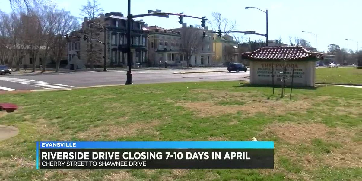 Traffic Alert: Section of Riverside Drive closing for at least 1 week
