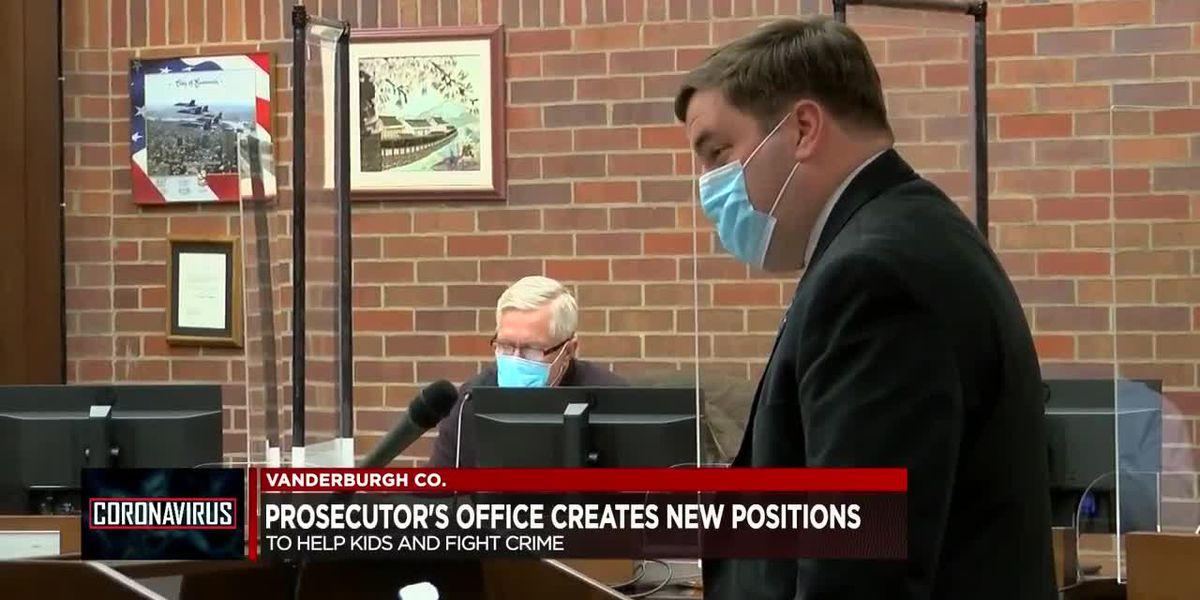 Vanderburgh Co. Prosecutor's Office creates new positions to help combat crime