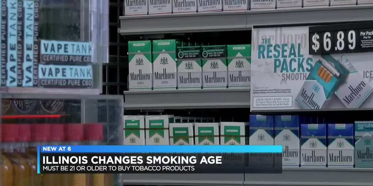 IL teens reacts to new tobacco age limit