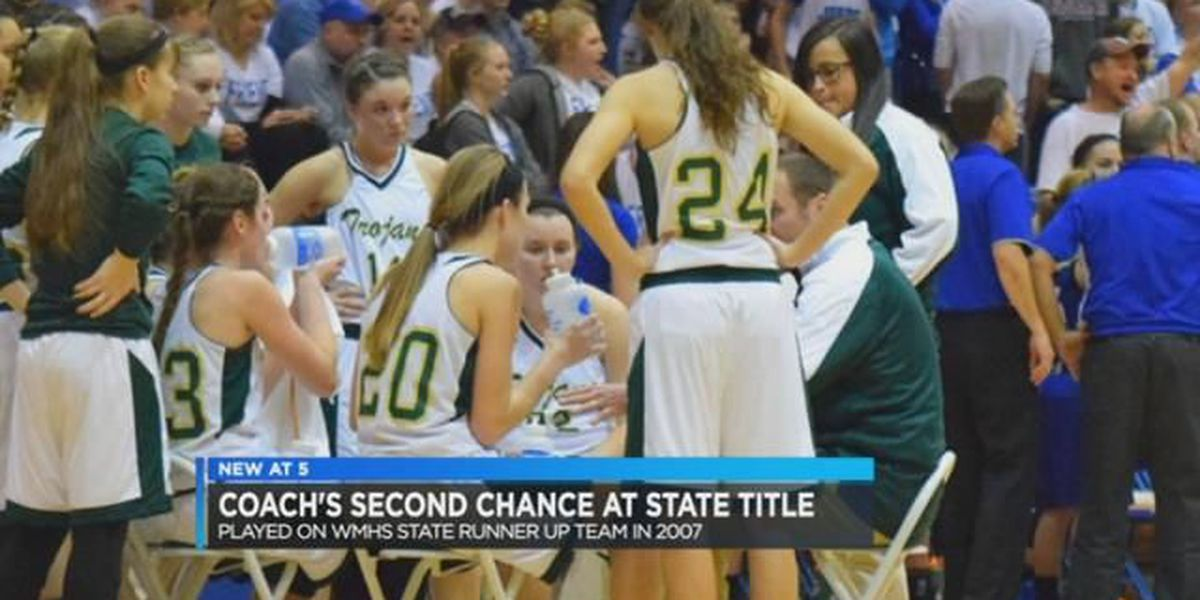 Wood Memorial girl's basketball coach has second chance at state title