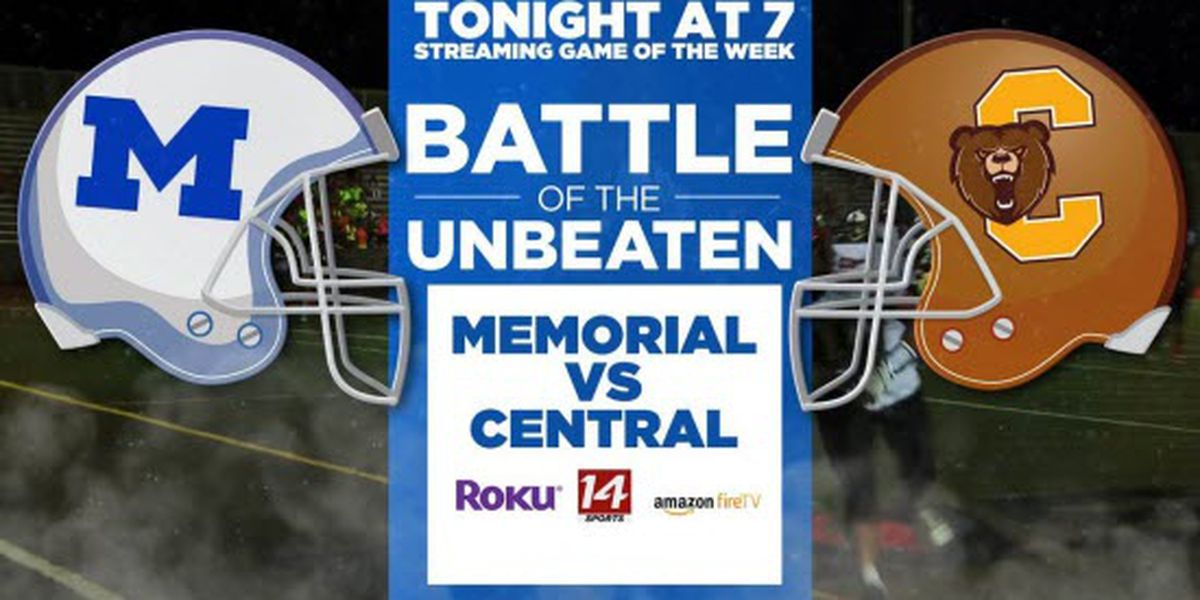 Touchdown Live Game of the Week: Memorial vs Central
