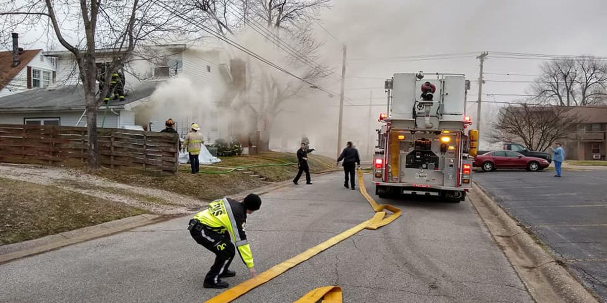No one hurt in Owensboro house fire