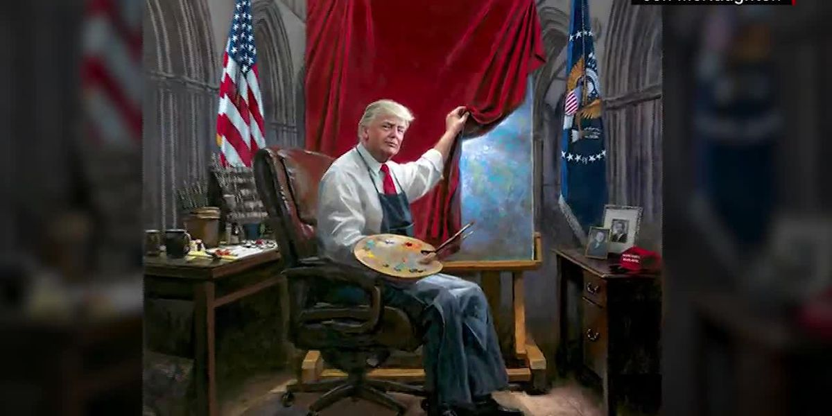 Trump fan art: Is the latest one a masterpiece?
