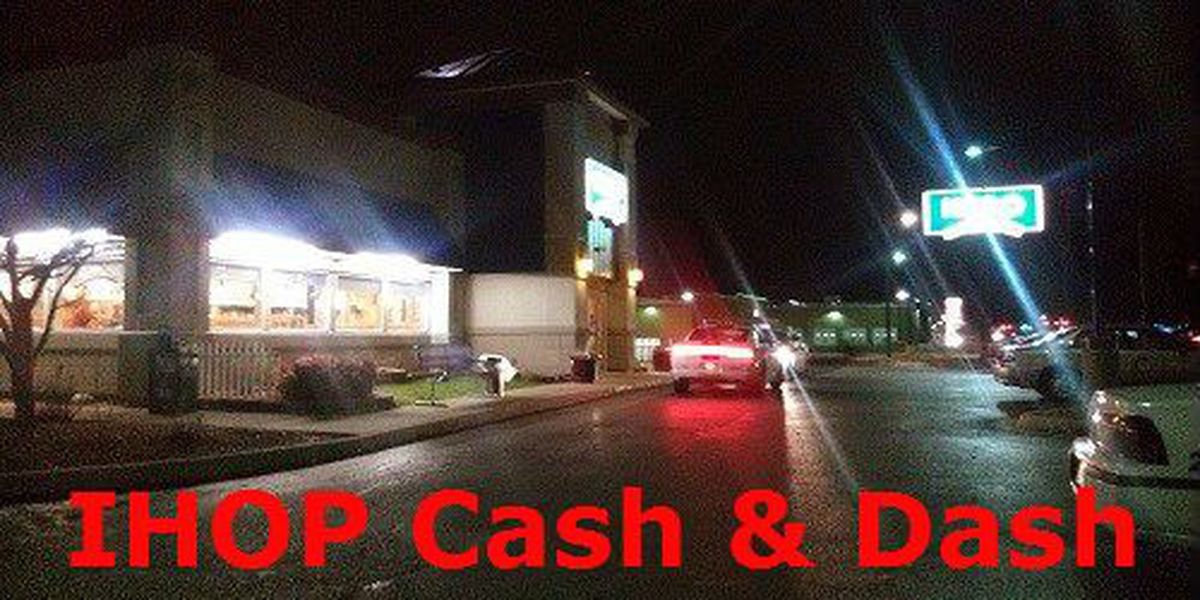 IHOP robbery a trash, cash and dash