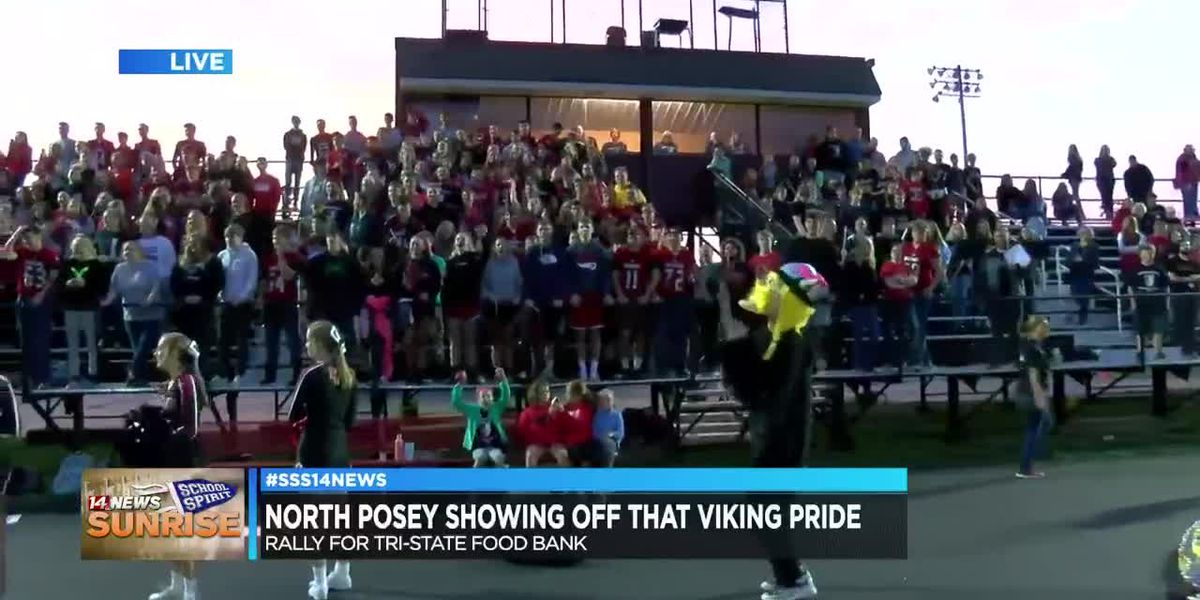 Sunrise School Spirit takes over North Posey High School, pt. 2