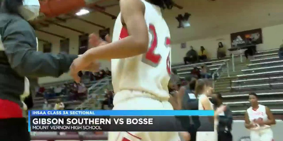 Girls 3A Sectional: Gibson Southern vs Bosse