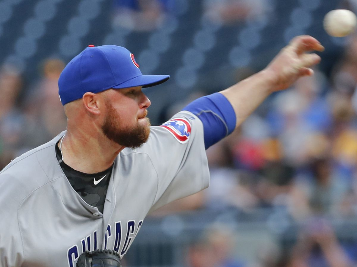 Cubs' Lester set to start Thursday against Dodgers