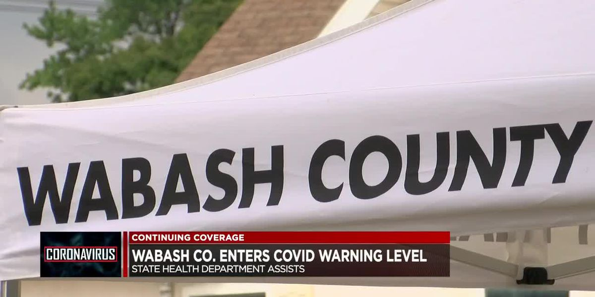 Wabash Co. enters COVID-19 warning level