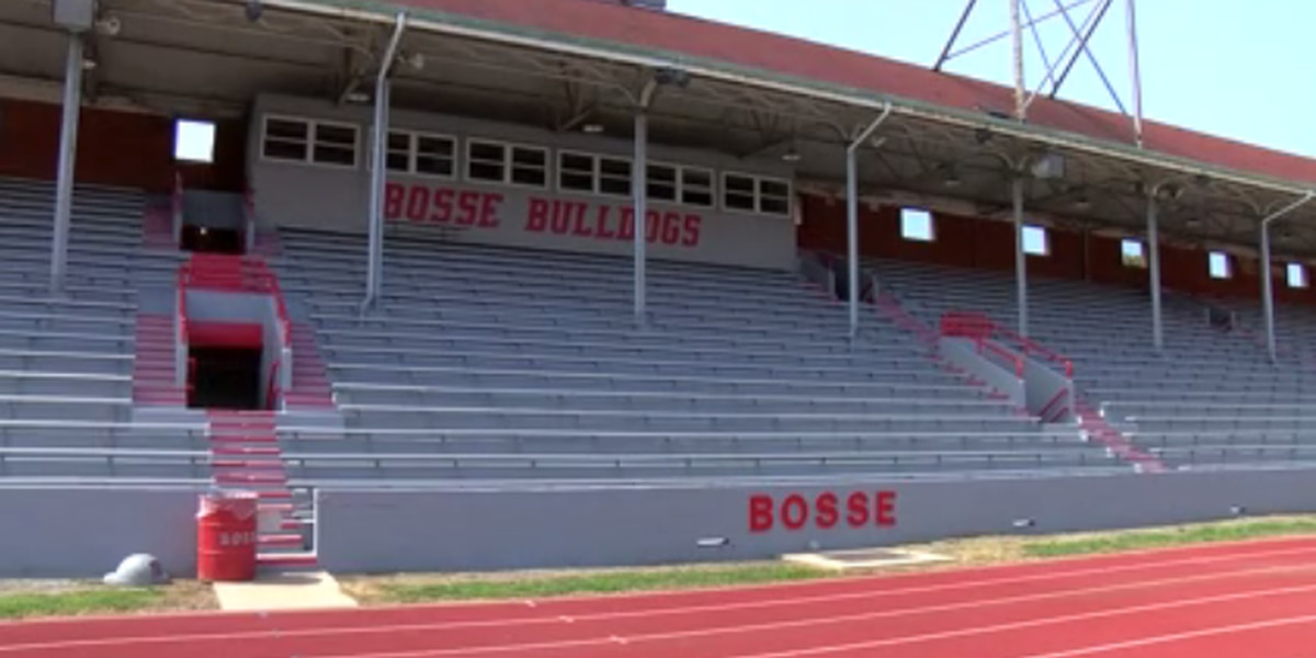 Bosse High School showcases newly completed renovations at Enlow Field