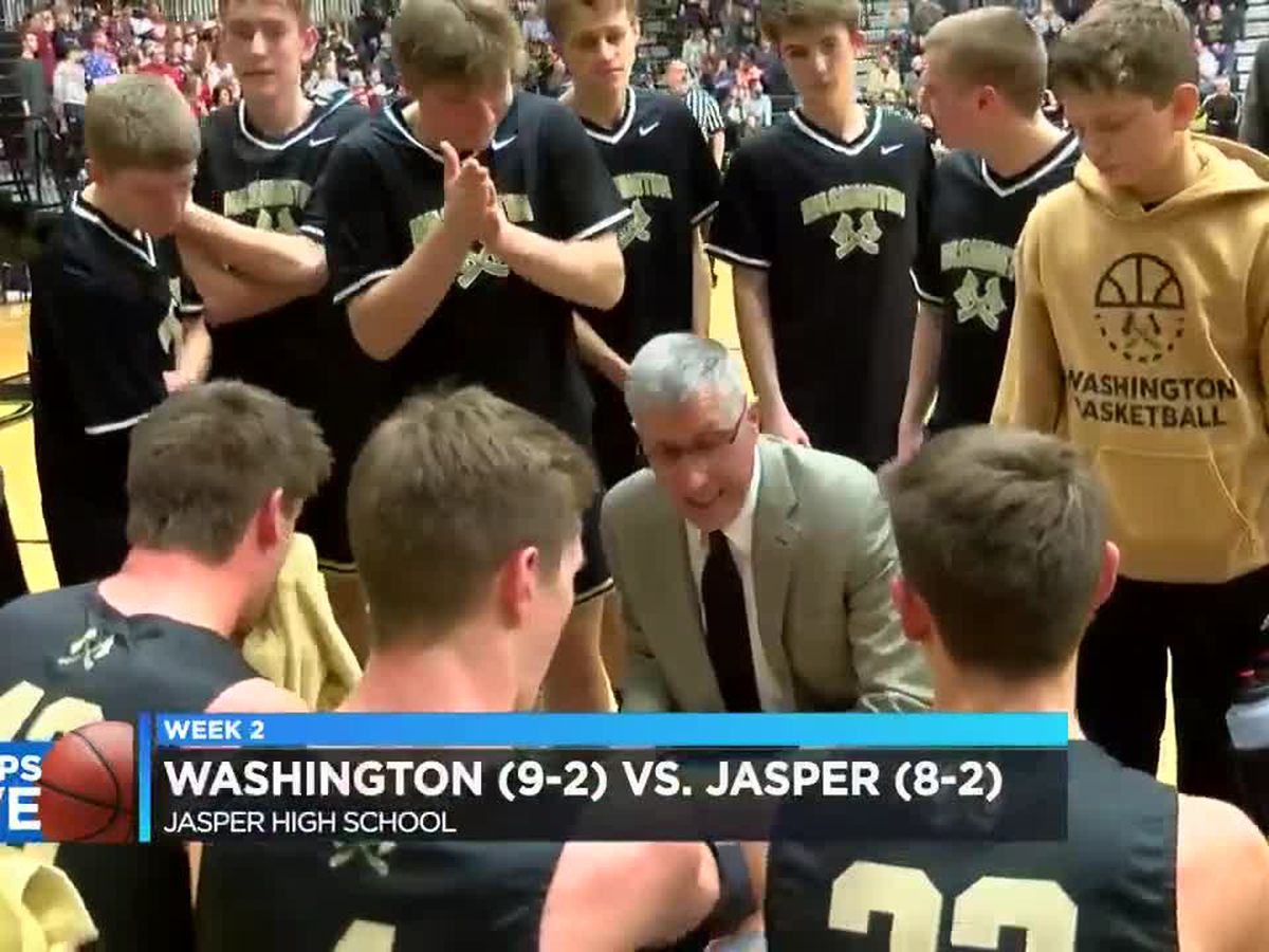 Hoops Live: Washington vs Jasper