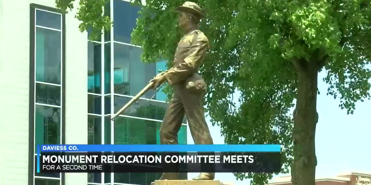 Daviess Co. monument relocation committee meets for 2nd time