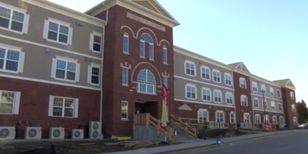 Audubon School Senior Apartments set to open on Mon.
