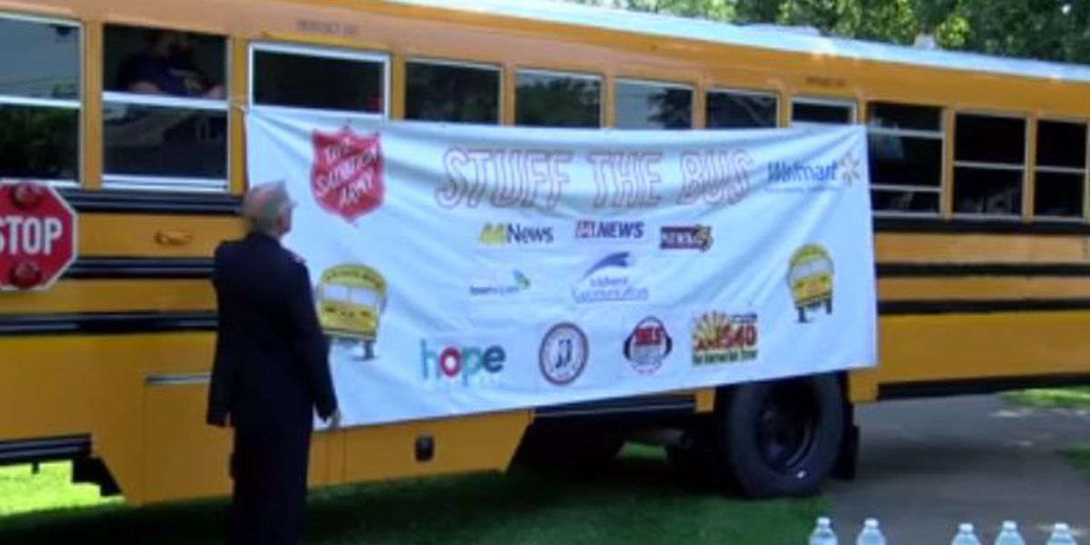 Salvation Army needs help to 'stuff the bus' with school supplies