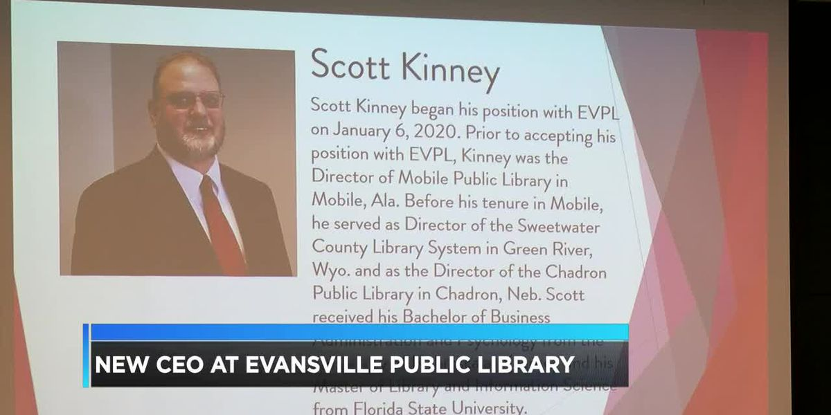 New CEO at Evansville Public Library