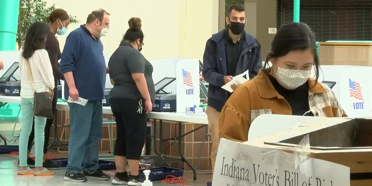Polls close, ballots now being counted in Vanderburgh Co.