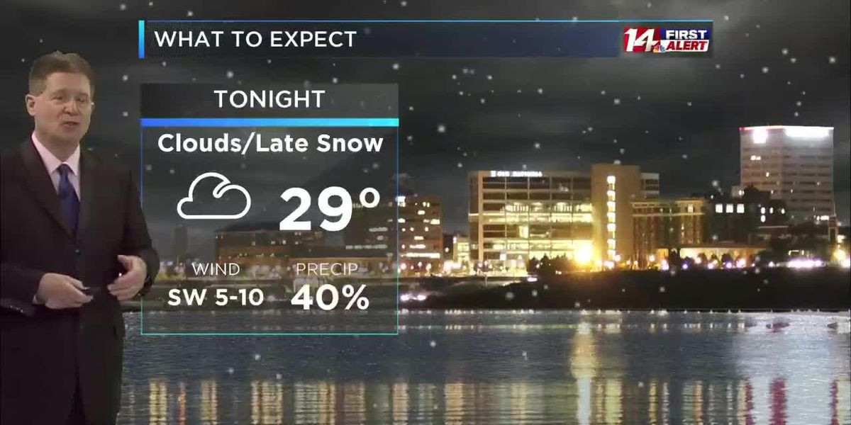 Thursday morning 14 First Alert Forecast