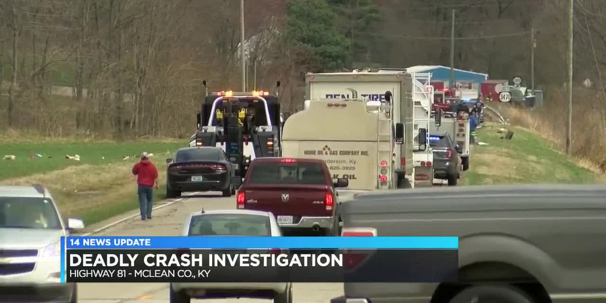 KSP update what they think happened in deadly McLean Co. crash