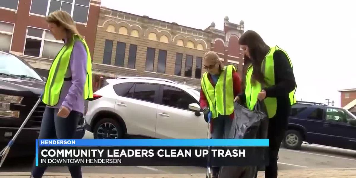 Collaborative cleanup event being held in downtown Henderson