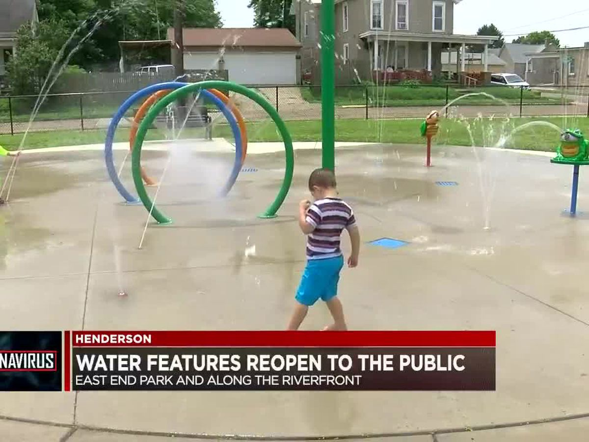 Henderson water features open to public