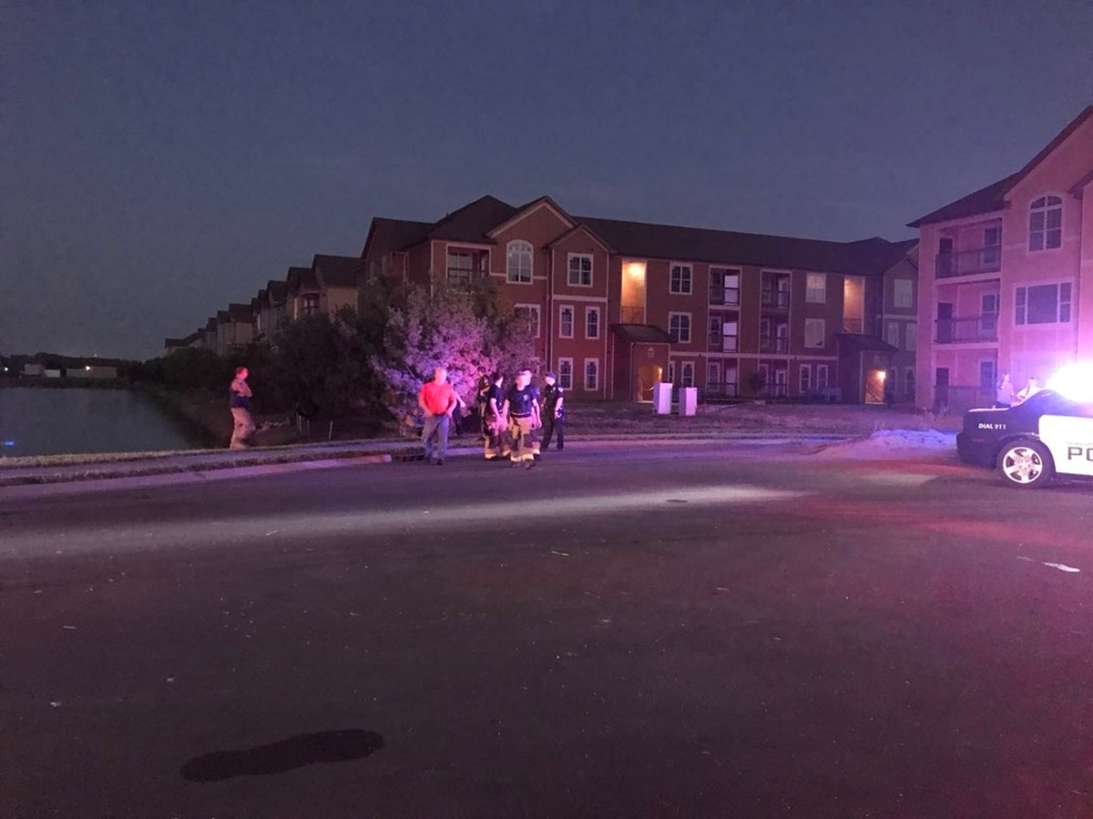 Child pulled from pond near Newburgh apartment complex