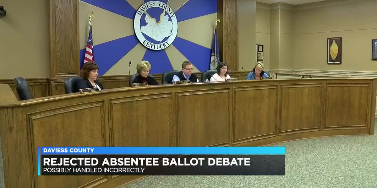 Rejected absentee ballot debate continues