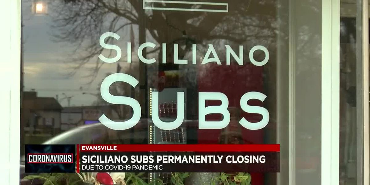 Siciliano Subs closing down due to pandemic