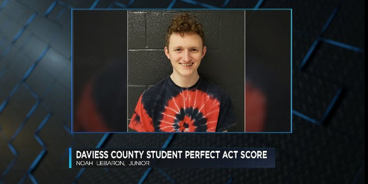 Daviess Co. HS student earns perfect ACT score