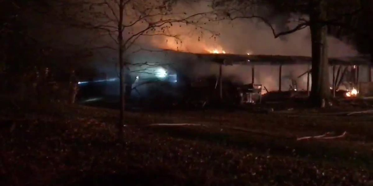 Boonville home destroyed by fire