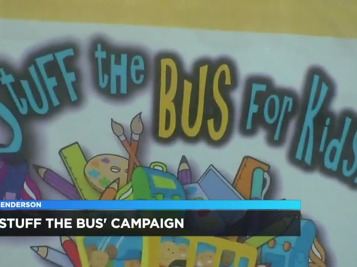 Henderson holding 'stuff the bus' event