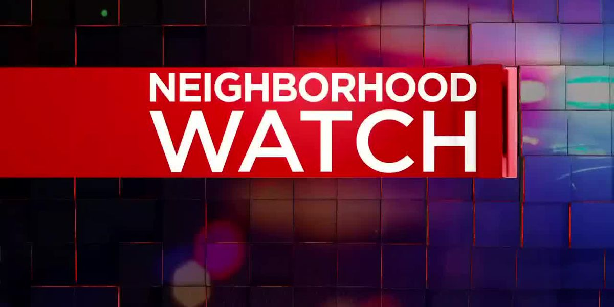 Neighborhood Watch: Academy Sports theft; Officer honored for service