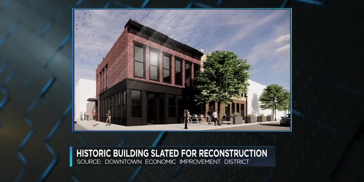 Historic downtown Evansville building getting makeover