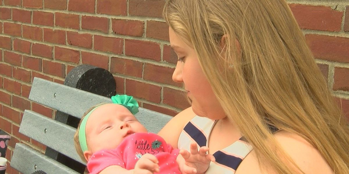 Local girl and her baby sister are in limelight with a video gone viral
