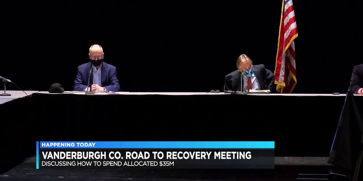 Road to Recovery meeting set to discuss how to spend allocated federal money