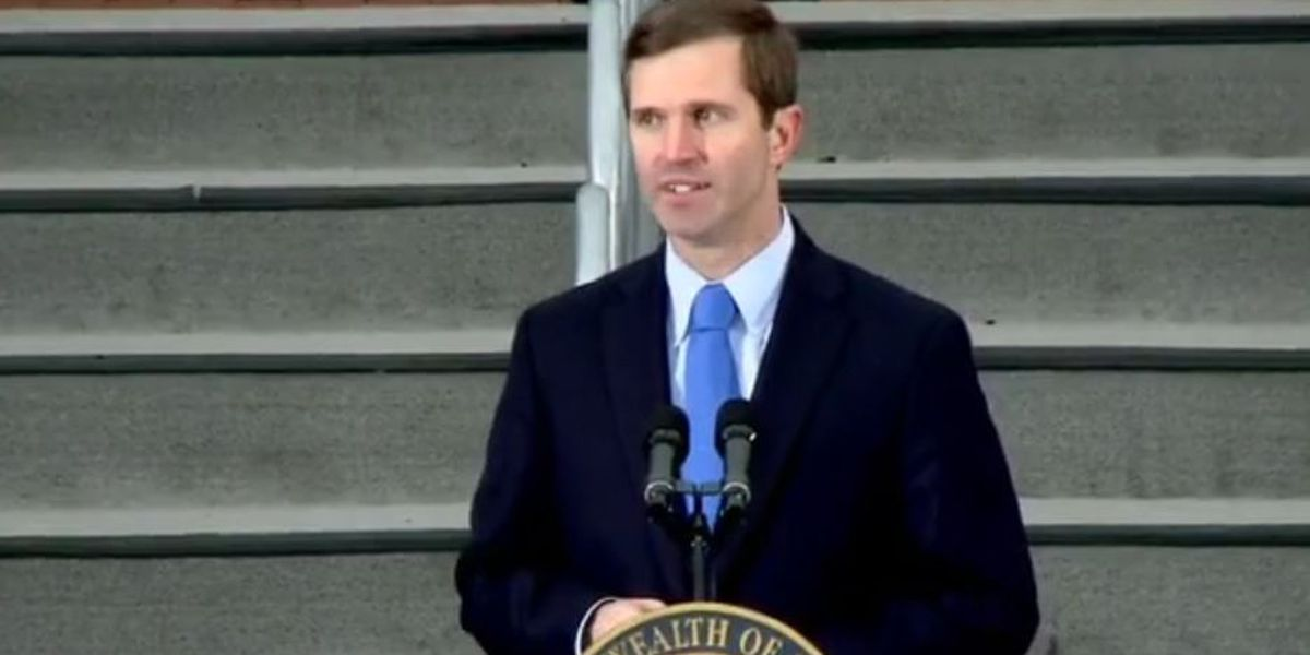 Gov. Andy Beshear sworn in as Kentucky governor