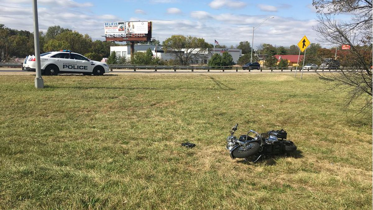 Crews called to motorcycle crash on 41 over Diamond Ave.