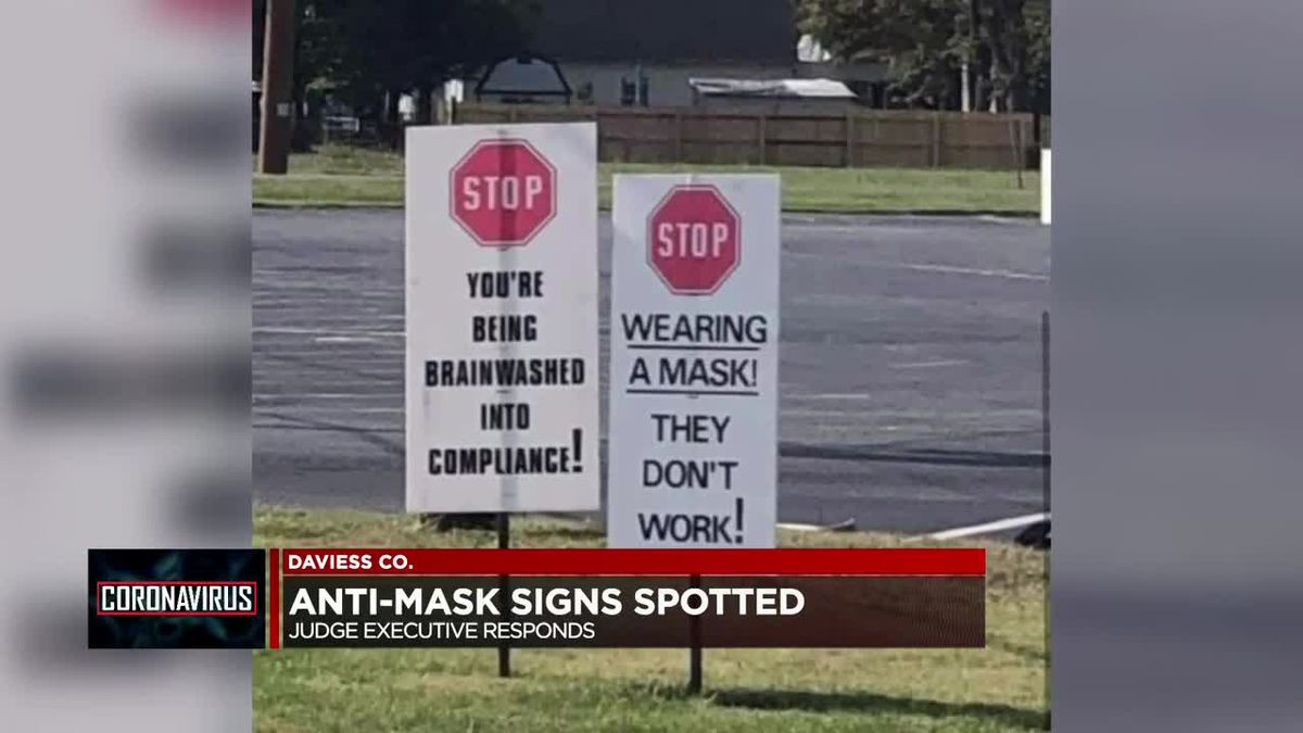 Anti-maskers spread misinformation in Owensboro