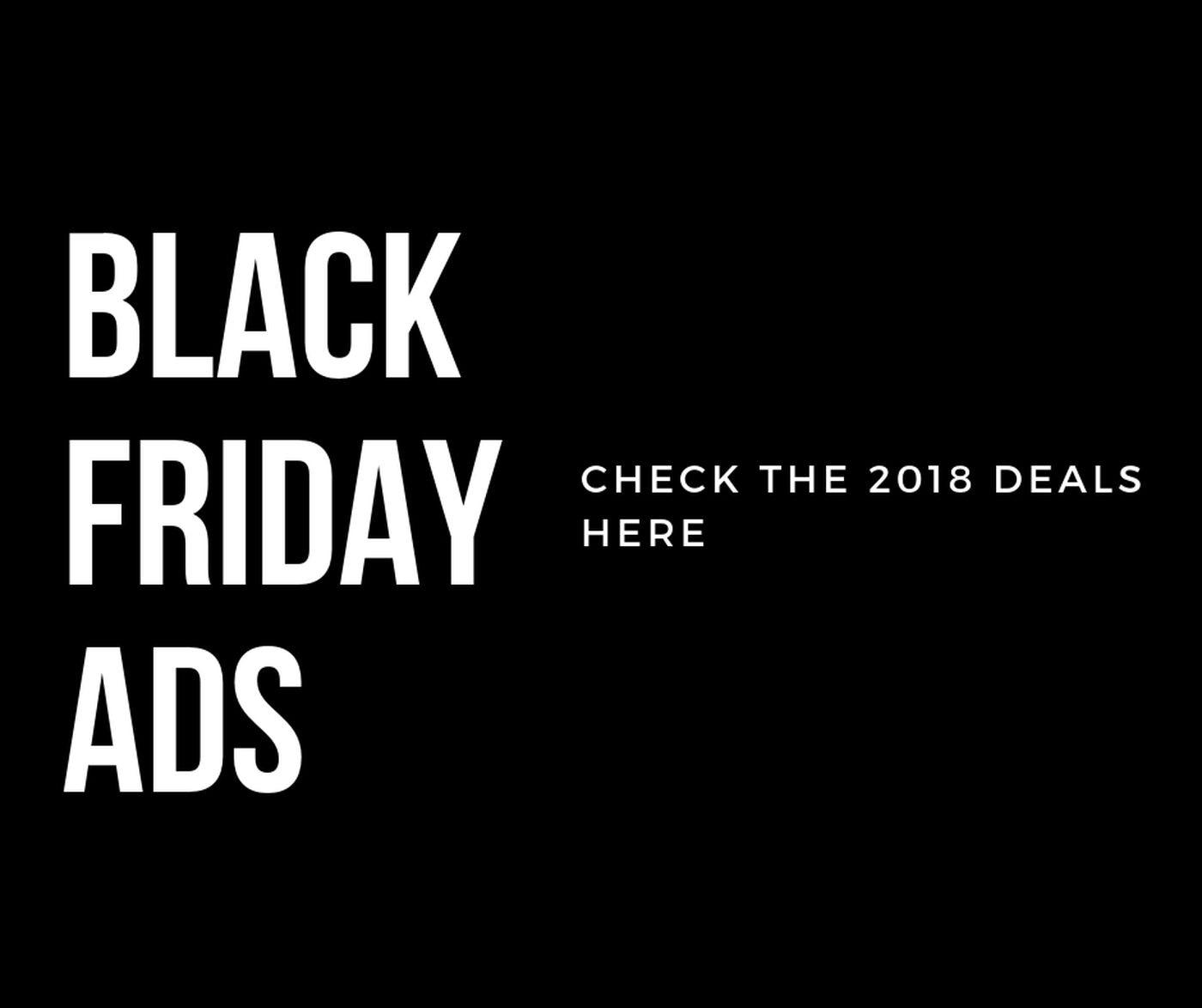 Slideshow Black Friday Ads 2018